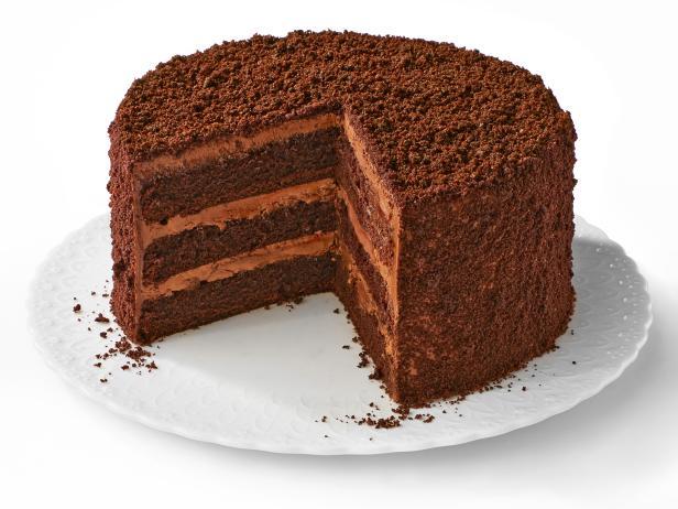 Фото Бруклинский торт «Блэкаут» с шоколадной крошкой