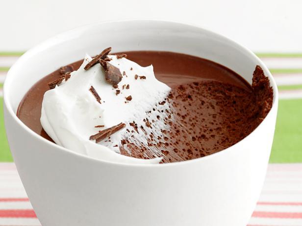 Фото Шоколадный пудинг «Пот-де-крем»