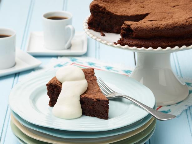Фото Шоколадный торт без муки