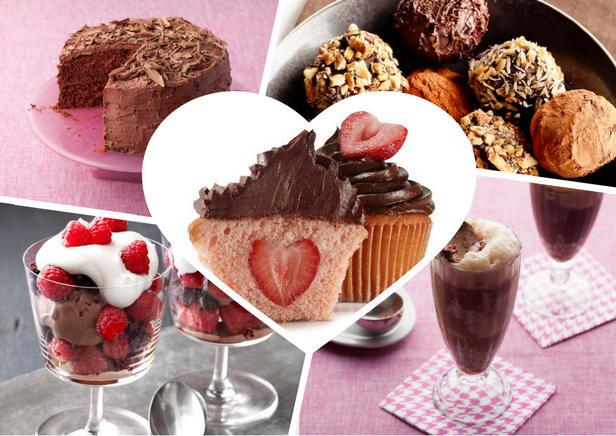 Фото Шоколадные десерты ко Дню святого Валентина