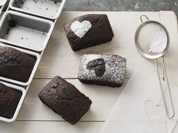 Шоколадные «мини-буханки»