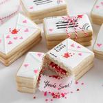 Печенье «Письма валентинки»
