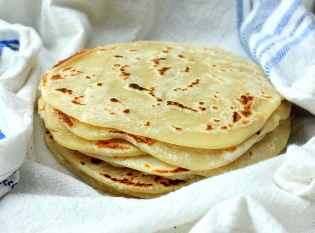 Фото Домашняя тортилья из пшеничной муки