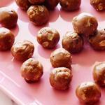 Шоколадно-миндальные конфеты с овсянкой