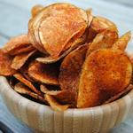 Домашние чипсы с приправой барбекю