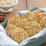 Домашнее овсяное печенье с кокосом и пеканом