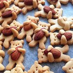 Печенье «Мишки» с орехом пекан и коричневым сахаром