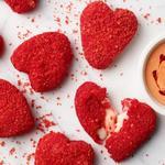 «Сердечки» из моцареллы в острой сырной панировке