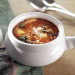 Суп из капусты кале (кудрявая капуста)