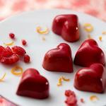 Шоколадные конфеты «Сердечки с малиной»