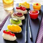 Необычные фруктовые суши