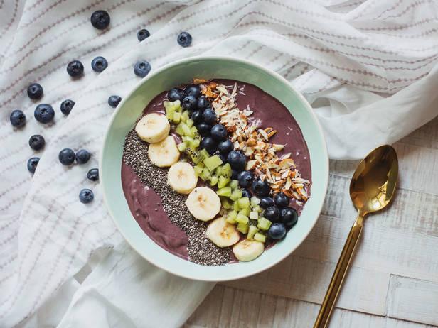 Фото Смузи из ягод асаи к завтраку