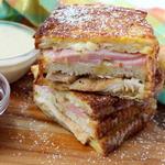 Сэндвич «Монте-Кристо» в стиле Мемфиса