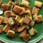Картофельные ньокки с цветной капустой