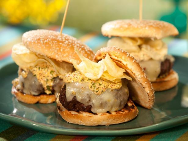 Фото Чизбургер с плавленным сыром