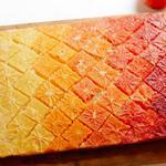 Пирог перевертыш с апельсинами «Градиент»