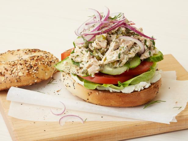 Фото Сэндвич с тунцом