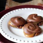 Конфеты «Черепахи» с карамелью и орехами