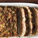 Мясной хлеб с чесноком