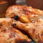 Курица баттерфляй в сахарной глазури на гриле