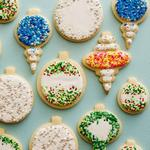Классическое песочное печенье с глазурью