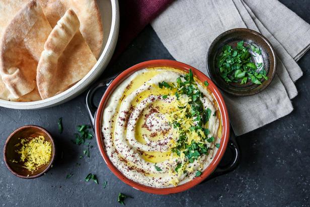 Фото Арабская закуска из баклажанов «Бабагануш»