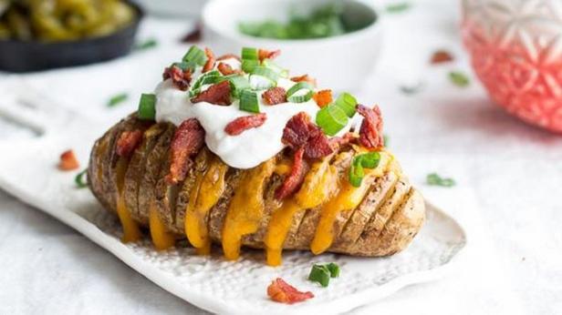 Фото Хассельбак - картофель с беконом и сыром