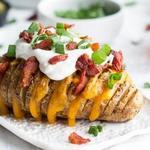 Хассельбак - картофель с беконом и сыром