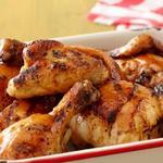 Курица барбекю в медово-апельсиновой глазури