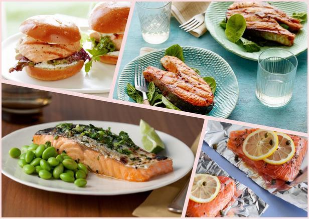 Фото Лучшие рецепты блюд с лососем