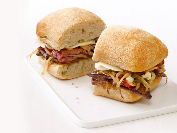 Итальянские сэндвичи со стейком