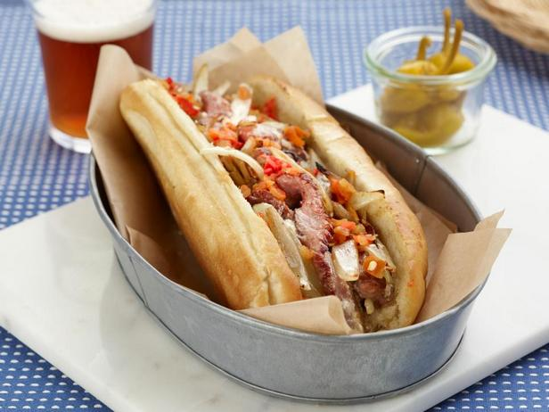 Сэндвич «Чизстейк» по-филадельфийски