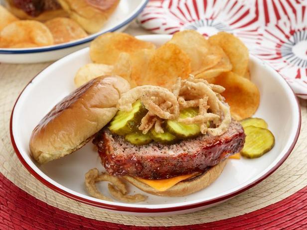 Сэндвич с котлетой «Митлоф»