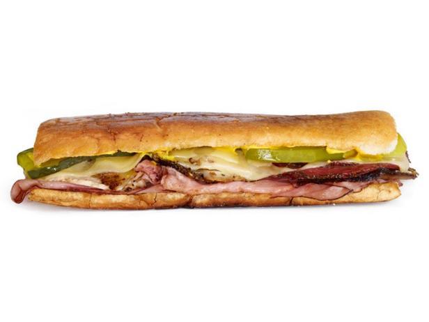 Кубинский сэндвич «Tampa»