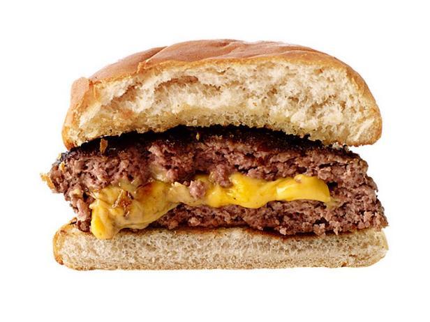 Чизбургер с плавленым сыром Джуйси Люси
