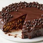 Шоколадный торт из песочного печенья без выпечки