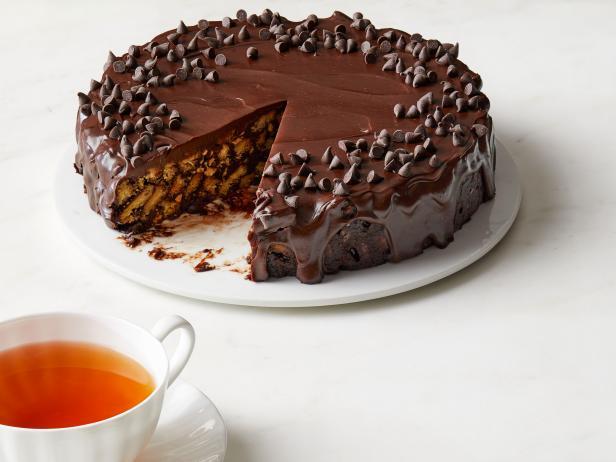 рецепт шоколадного торта из печенья