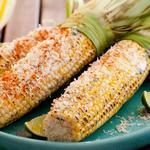 Жареная кукуруза в початках по-мексикански