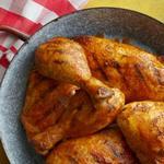 Курица-гриль в сухом маринаде