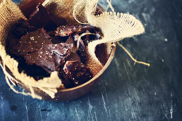 Фото Жареный бекон в шоколаде