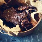 Жареный бекон в шоколаде