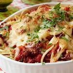 Спагетти, запеченные в духовке
