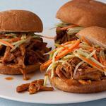 Сэндвичи с рваной свининой быстрого приготовления