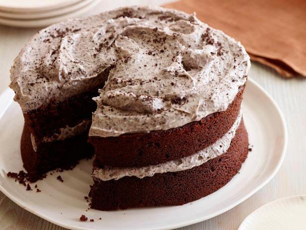 Шоколадный торт с печеньем Oreo и творожным кремом