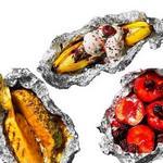 Летние фрукты на гриле