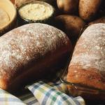 Простой картофельный хлеб