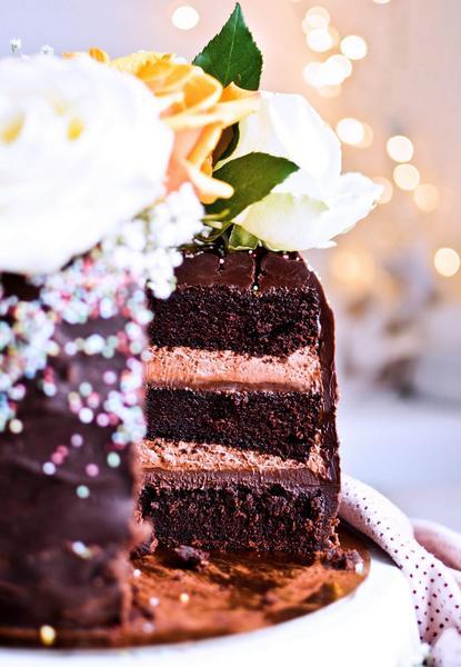 Фото Ганаш для начинки торта