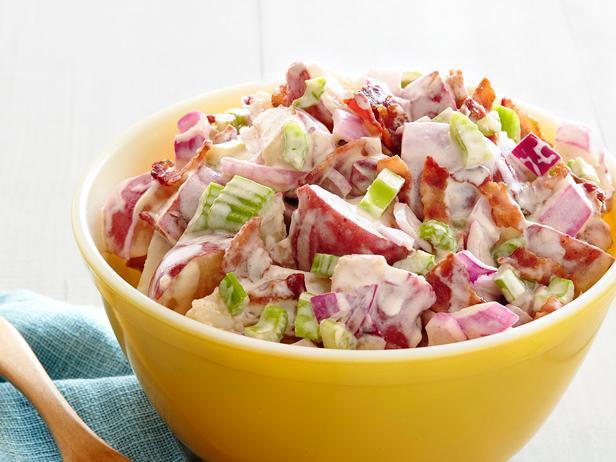 Фото Супер-пикантный картофельный салат