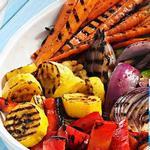 Овощи на гриле: 20 рецептов