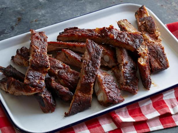 Свиные рёбра барбекю по-канзасски